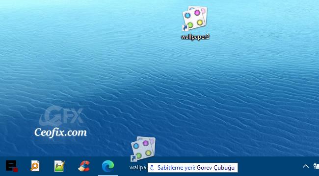 Windows 10 da Görev Çubuğuna Klasör Sabitleme