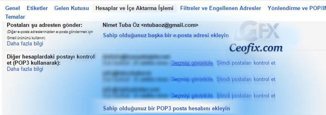 Domain Mailini Gmaile Yönlendirme