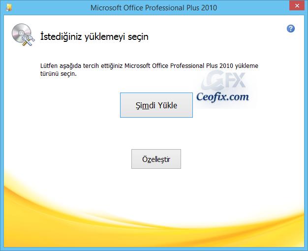Microsoft OFFİCE Seçmeli Nasıl Kurulur?