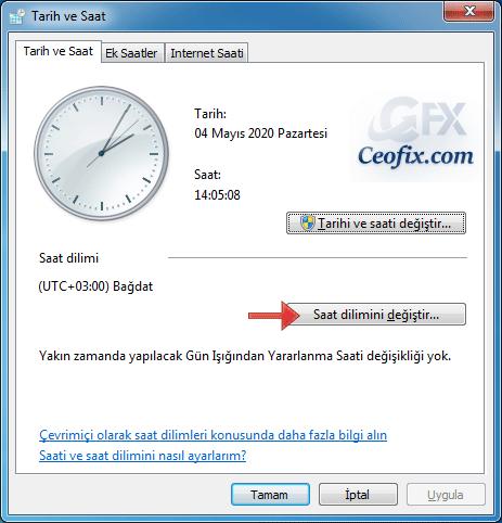 Windows 10'da kış saati uygulaması nasıl kapatılır?