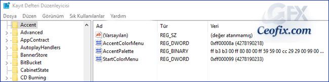 Windows 10'da Color Control İle Renkleri Özelleştirelim