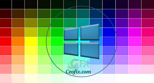 LoneColor: Windows 10 Düz Masa Üstü Renkleri