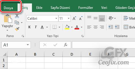 Word Ve Excel'i Boş Sayfa Olarak Başlatma