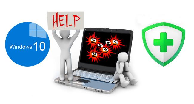 Windows 10'u Ücretsiz Olarak Virüsden Koruyun