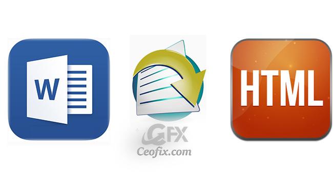 Microsoft Word 2016 da Belgeleri HTML'e Dönüştürme