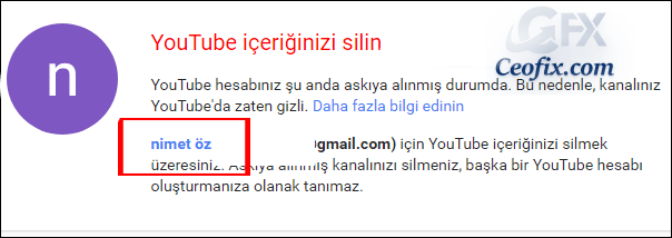 youtube kanal url si