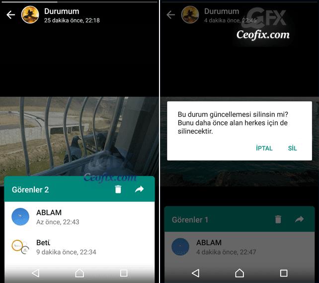 Whatsapp Durumuna Fotoğraf Video ve GIF Nasıl Eklenir