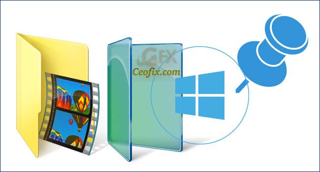 Windows Gezginine Hızlı Erişim Klasörleri Nasıl Eklenir