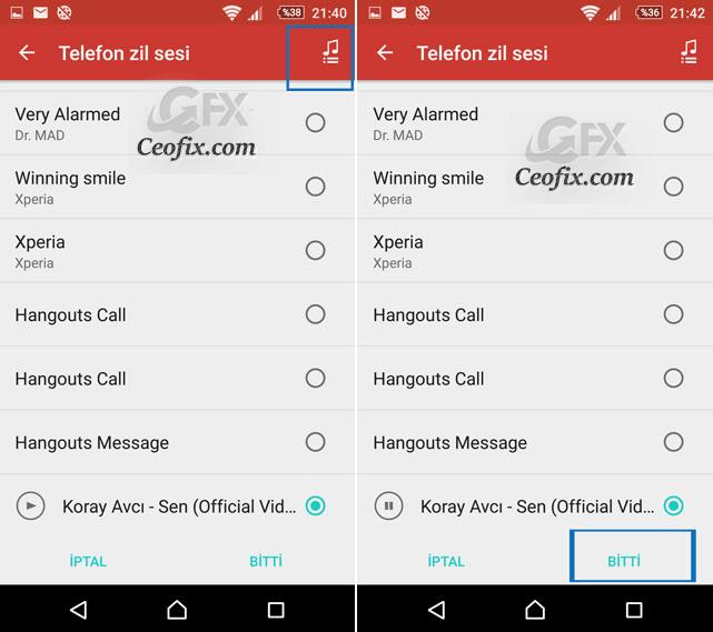 Android Cihaza Özel Zil Sesi Nasıl Ayarlanır
