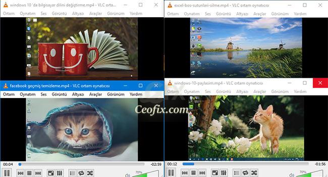 VLC Player da Nasıl Birden Fazla Video Oynatılır