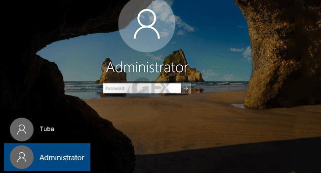 Windows 10 da Gizli Yönetici Hesabını Nasıl Aktif Ederiz - www.ceofix.com