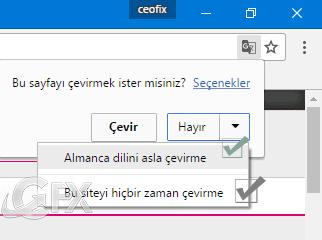 Chrome da Çeviri Dili Nasıl Değiştirilir