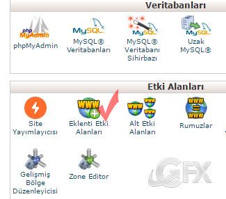 CPanel de Addon Domain Dizini Nasıl Değiştirilir