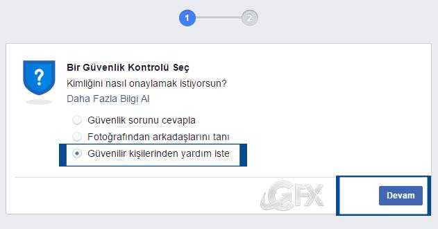Facebook hesap kilitlenmesi