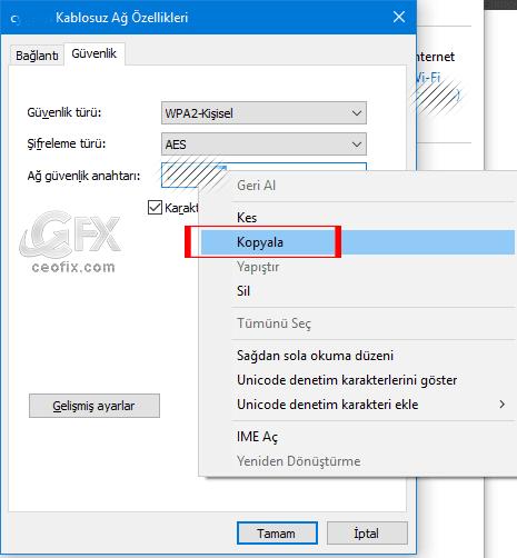 Windows 10'da Kayıtlı Wi-Fi Şifresi Nasıl Bulunur