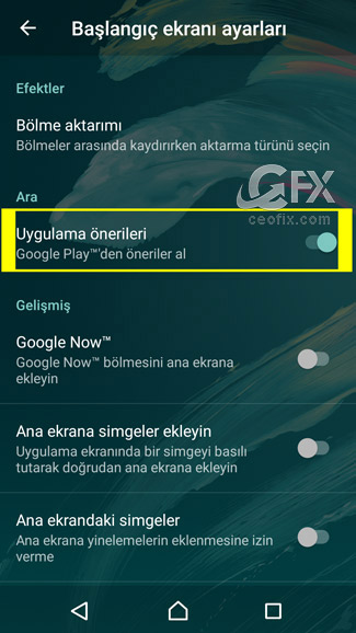 android uygulama önerileri