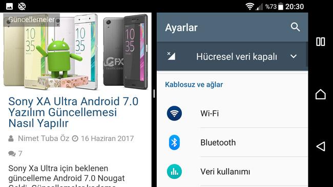 Android 7.0 Nougat: Bölünmüş Ekran Özelliği Nedir