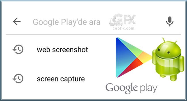 Android Telefondaki Google Play Arama Geçmişi Nasıl Silinir