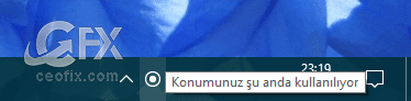 windows konum izliyor