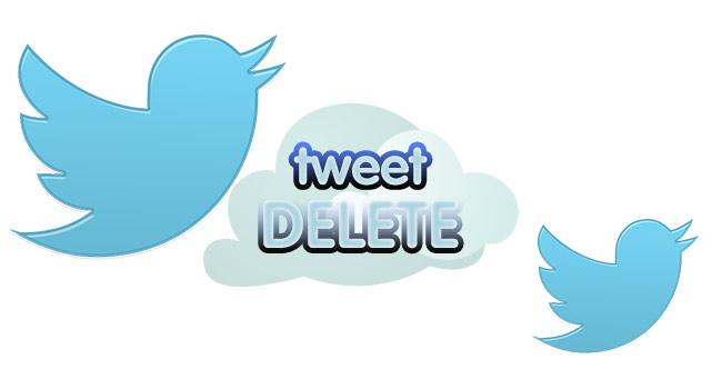 Twitter'da Tüm Tweetler Nasıl Silinir