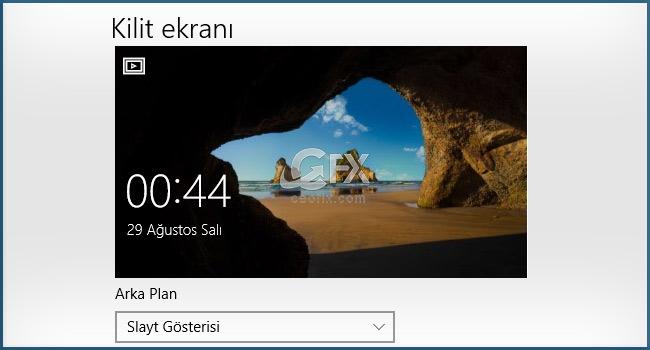 Windows 10 Süreli Slayt Gösterisi Nasıl Ayarlanır