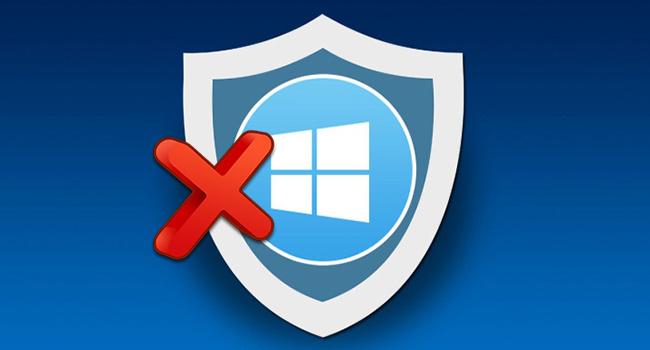 Windows Defender Güvenlik Merkezi İkonunu Kaldır