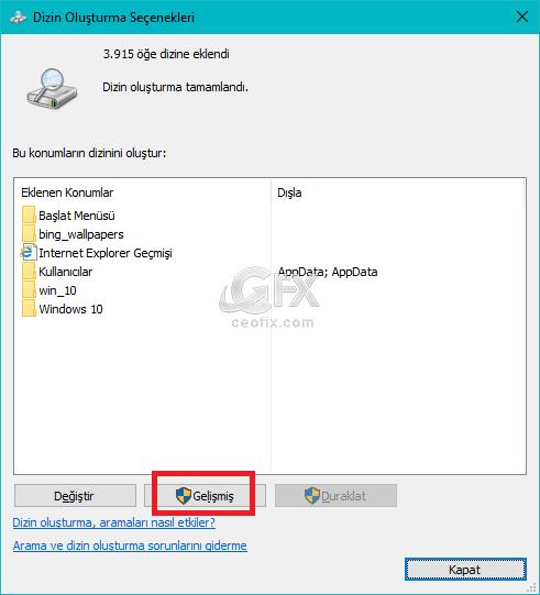 Windows 10'da Dosya İçeriğini Arama Nasıl Yapılır?