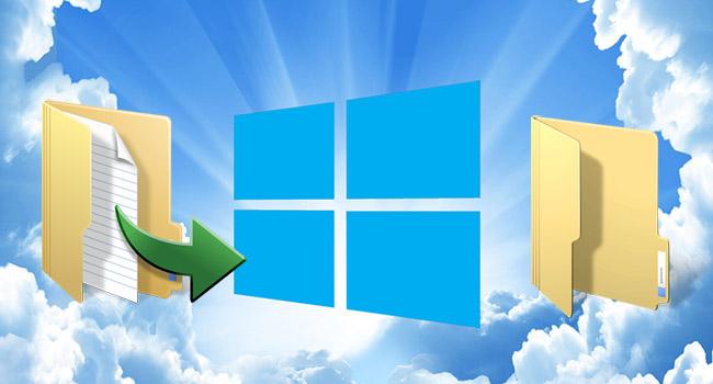 Windows 10 Öğeleri Kopyalama Yada Taşıma Yeri Nasıl Seçilir