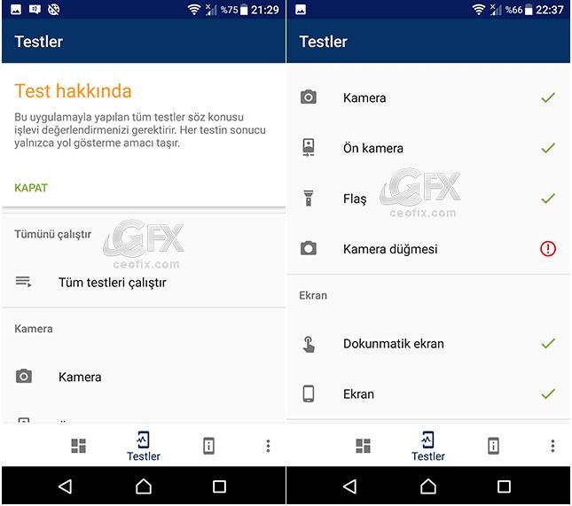 Android cihazda performans testi nasıl yapılır?