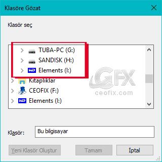 r NTFS olarak görülüyor. Peki harddisk ne olacak indexletiremiyecek miyim derseniz, Yapabilirsiniz derim.  ExFat ile biçimlendirilen Harddisk Nasıl İndexlettirilir?