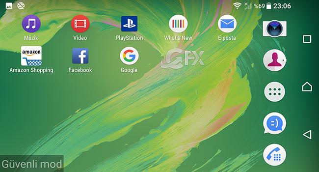 Android Cihazı Güvenli Modda Başlat