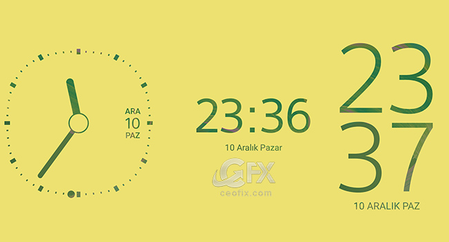 Androidde Kilit Ekran Saati Nasıl Değiştirilir