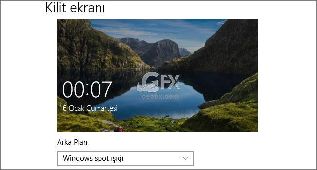 Windows 10'da Kilit Ekran Resimlerini Yenile