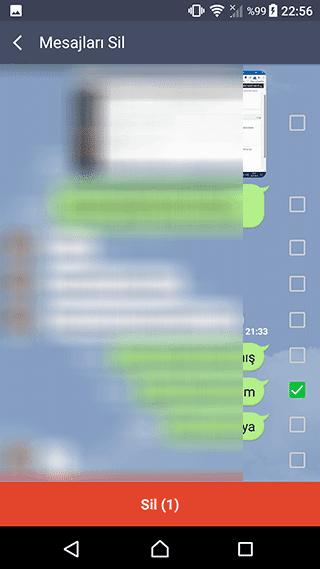 Line mesajlaşmasında Göndermeyi geri al