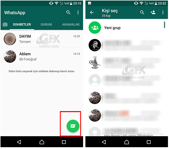 Whatsapp'da konum nasıl paylaşılır?