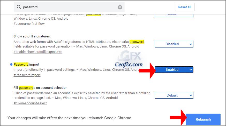 Google Chromeda Şifreler İçe Ve Dışa Nasıl Aktarılır?
