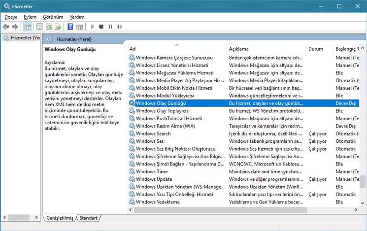 Windows'da İnternet Simgesi Kayboldu