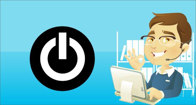 Bilgisayarın Güç Düğmesi Eylemini Değiştirme