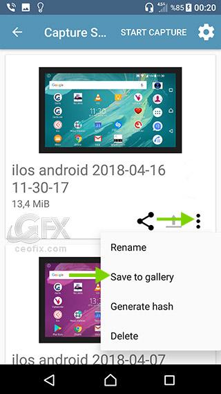 Android Telefonda 1920 * 1080 ekran Kaydı Yap