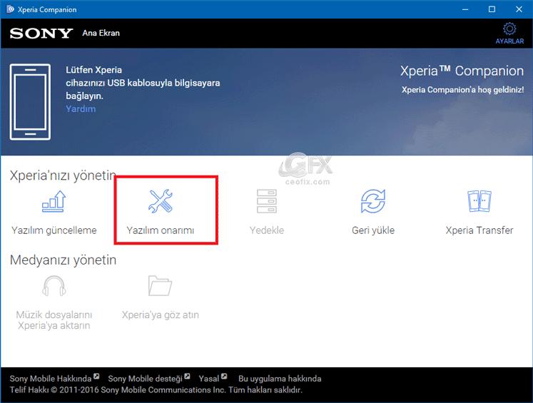 Unutulan Ekran Kilidini Sıfırlamak için yazılım nasıl güncellenir?