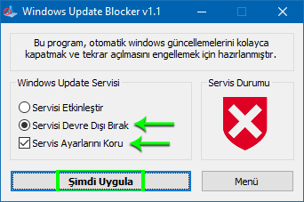 Windows Update Blocker v1.1