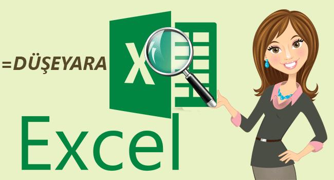 Excel'de Düşeyara Formülü İle Arama