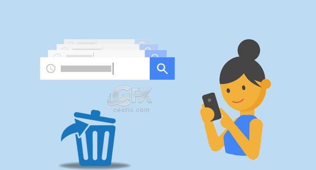 Google'da Saklanan Geçmişi Sil