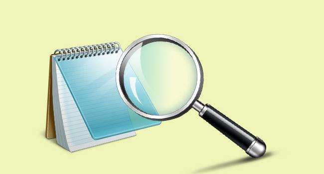 Not Defteri'nde Metin Yakınlaştırma Seviyesini Değiştirme