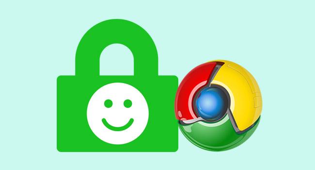 Google Chrome'da HTTPS İçin Güvenli Simgesini Geri Yükle
