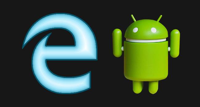 Android Telefonda Edge Tarayıcısında Siyah Tema Kullan