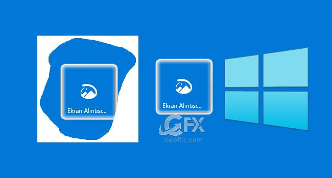 Windows 10 Yeni Ekran Alıntısı Ve Taslak Uygulaması
