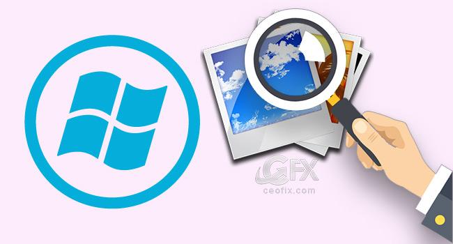 Windows'da Depolanan Tüm Fotoğrafları Bul