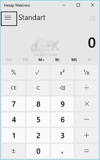 Windows 10 Hesap Makinesinde Para Birimi Nasıl Dönüştürülür