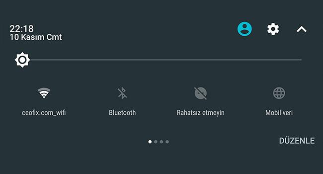 Android Telefonda Wifi İle Mobil Veri Arasında Geçiş Yap
